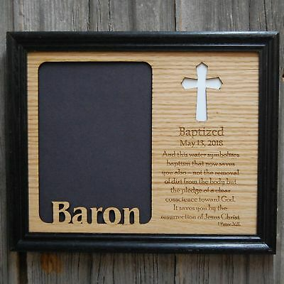 8x10 Baptism Picture Frame