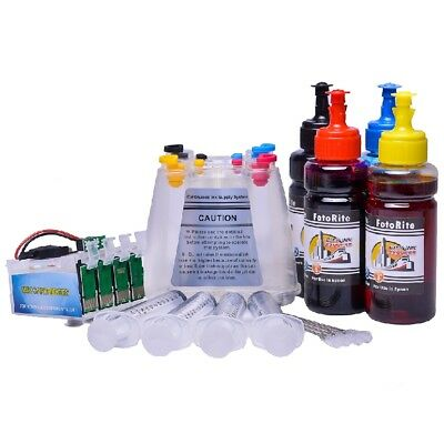 NON OEM DYE + Pigment ink ciss continuous ink system fits