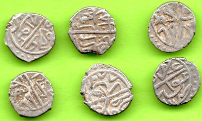 KOSOVO Ottoman Turkey Akce Sultan Bayezid II 1481-1512 Novar-Novo Lot 6 pc.330