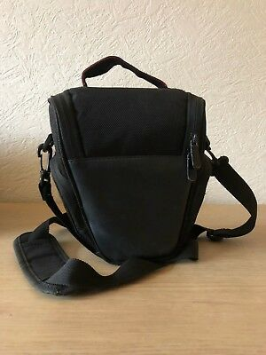 Portable Triangle Backpack Zipper Camera Bag Case for Canon Nikon Sony SLR DSLR