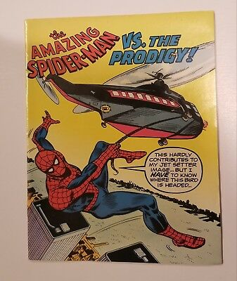 Amazing Spider-Man VS the Prodigy Planned Parenthood mini comic 1976. Very Rare