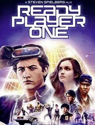 Ready Player One 2018 Digital SD Download Code NO DISC DOSE NOT INCLUDE ANY DISC