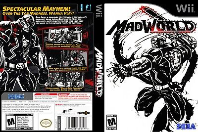 Nintendo Wii Replacement Game Case and Cover MadWorld