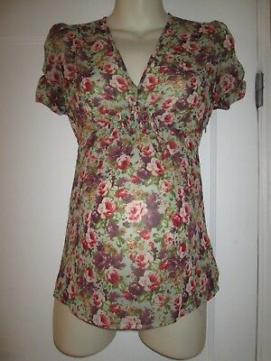 Pretty Size 8 Topshop Maternity Top See Pics & Info!!