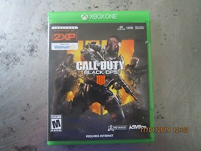 Call Of Duty Black Ops 4 Xbox One Video Game