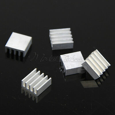5PCS 11*11*5mm Aluminum Heat Sink For Memory Chip IC