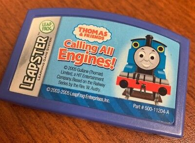 80-30435E LeapFrog  Leapster Learning Game Thomas /&  Friends Calling All Engines