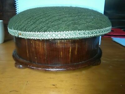 Victorian Foot Stool with storage option 14×29×29cm