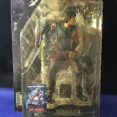 Army of Darkness Action Figure ASH 2000 McFarlane Toys Movie Maniacs 4 NEW