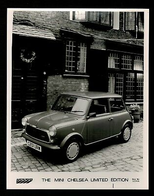 Photo 15 x 20 - MINI CHELSEA LIMITED EDITION - AUSTIN ROVER