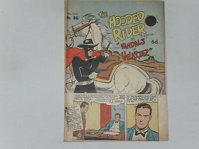 The Hooded Rider  #16    Action Comics (Australian)   28 Pages B & W
