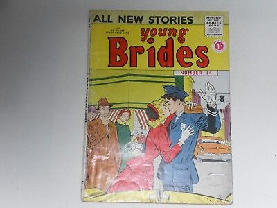 Young Brides  #14  Uk Edition  Arnold Book Co.  68 Pages  1/-  Good Condition