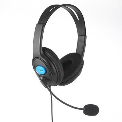 Stereo Wired Gaming Headsets Headphones w/ Mic for PS4 Sony PlayStation 4 /PC DF
