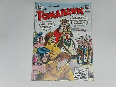 Tomahawk  #29  Uk Edition   Strato Pubs  .  68 Pages  1/-  Very Good Condition