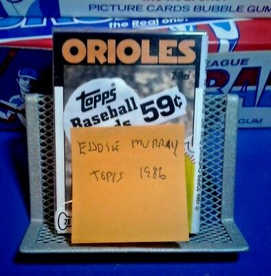 Unopened Topps Baseball Cards Pack - Eddie Murray - Free Shipping  - 28 Cards