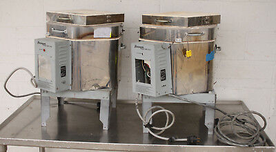 (2) Paragon 1193D High Fire Commercial Electric Pottery Kiln Lot As Is