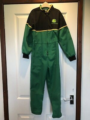 JOHN DEERE KIDS OVERALLS AGE 7-8 Years Great Condition