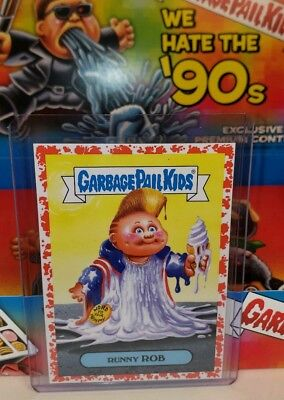 Garbage pail kids We Hate The 90's Bloody Nose Red (runny ROB 1a 40/75) 2019