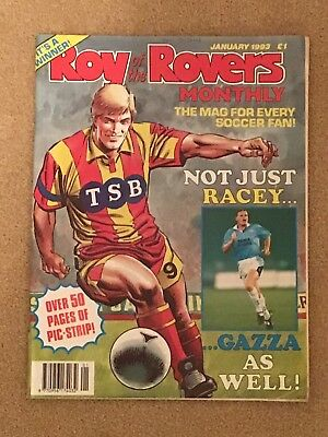 Roy Of The Rovers Monthly January 1993