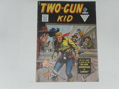 TWO GUN KID  #28    UK EDITION   L. MILLER & SON   28 PAGES  B & W   6d