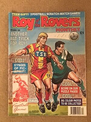 Roy Of The Rovers Monthly December 1992