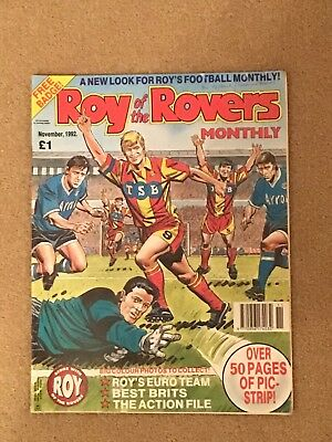 Roy Of The Rovers Monthly November 1992