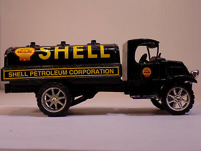 JLE #GJ3011 1935 Mack Shell Gasoline 1/34th DIECAST METAL COIN BANK