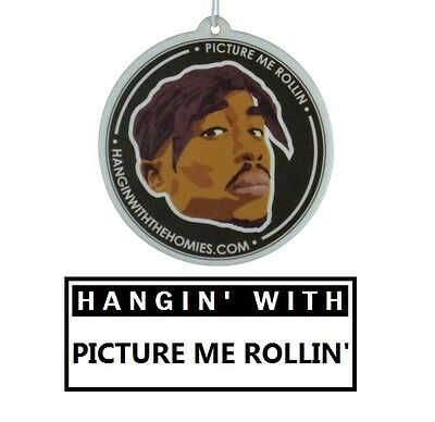 Hip Hop Air Freshener - Tupac
