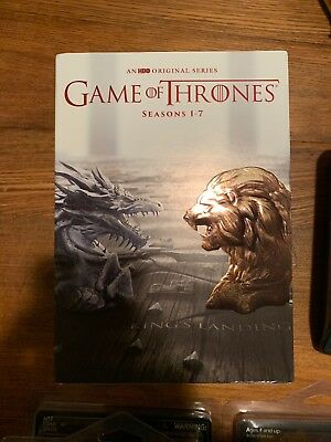 Game of Thrones Seasons One to Seven Boxset 1-7 (DVD 2017, 34-Disc)