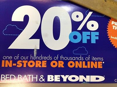 Bed Bath & Beyond 20% Off Single Item Online & In Store! Exp.2/25/19