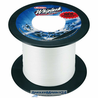 "200m BERKLEY ""Whiplash Crystal"" Ø 0,06mm - 10,6kg Rest geflochtene Angelschnur"