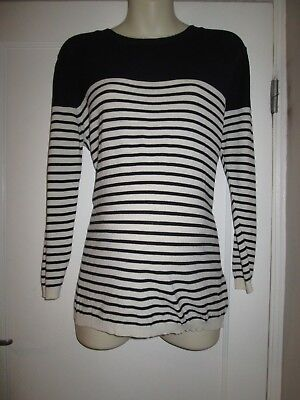 Lovely Size 12 Topshop Fine Knit Maternity Jumper See Pics!!