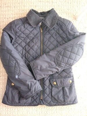 Polo Ralph Lauren Boys Navy quilted coat - size M (8-10) - NWOT