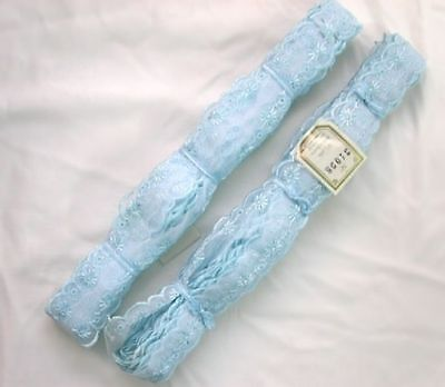 Embroidered Organza Lace  Blue (Second)