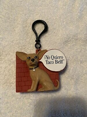 "Vintage Applause ""YO QUIERO TACO BELL"" Chihuahua Coin Pouch Coin Purse Key Clip"