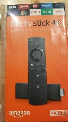 Amazon Fire TV Stick 4K with All New Alexa Voice Remote Streaming Media Player