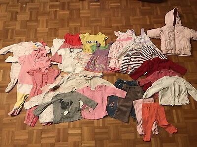 Large Baby Girl Clothes bundle (6-9months) 26 Items