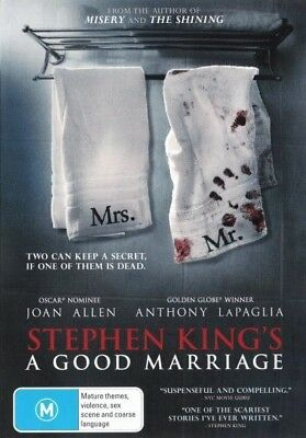 Stephen King's: A Good Marriage = NEW DVD R4