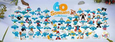 Schtroumpfs Figurines Mcdonalds Collection Mc Do Happy Meal 2018 Neuf