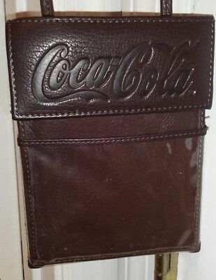 Coca Cola Leather Bag