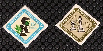 Dominican Republic 636, C152 Chess Championships MNH
