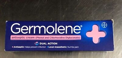 Germolene Antiseptic Cream with Local Anaesthetic 30g From UK