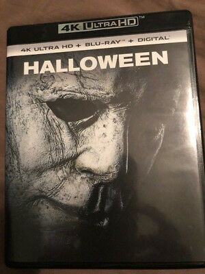 Halloween (2018)  4K Ultra HD disc with original case