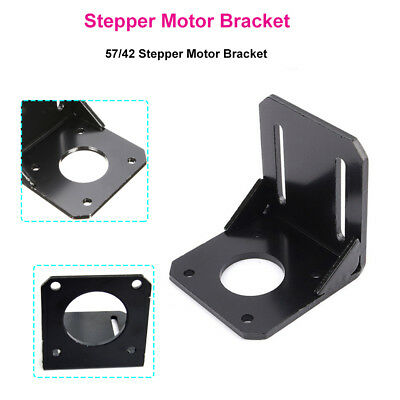 3D Stepper Motor Mounting L Bracket 1Pcs Steel for Nema17 23 Stepper Motor
