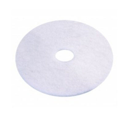 "new CLEANSTAR Regular Speed Polisher Extra Fine Polishing Pad 300MM -12"" White"