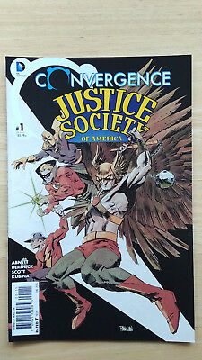 Convergence Justice Society of America # 1 (of 2) DC Jun 2015 - VF