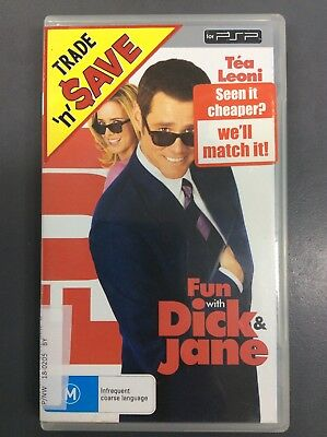Fun with Dick & Jane UMD Video Movie For PSP