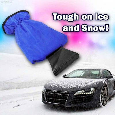 C111 ABS Car Ice Shovel Snow Brush Blue Snow Scraper Outdoor Defroster Portable