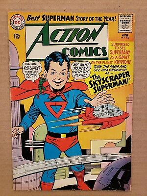 Action Comics #325 Supergirl appearance FN (HUGE SILVER DC AUCTION)