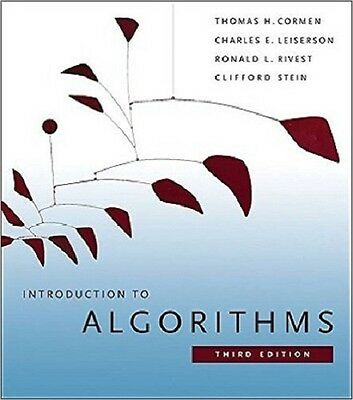 Introduction to Algorithms by Cormen DHL SHIP